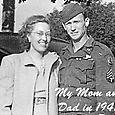 Aunt Edie and Uncle George 1945