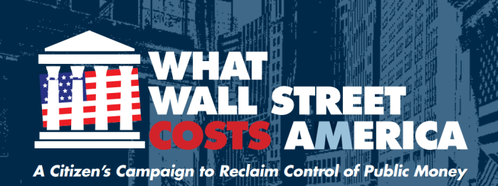 What Wall Street Costs